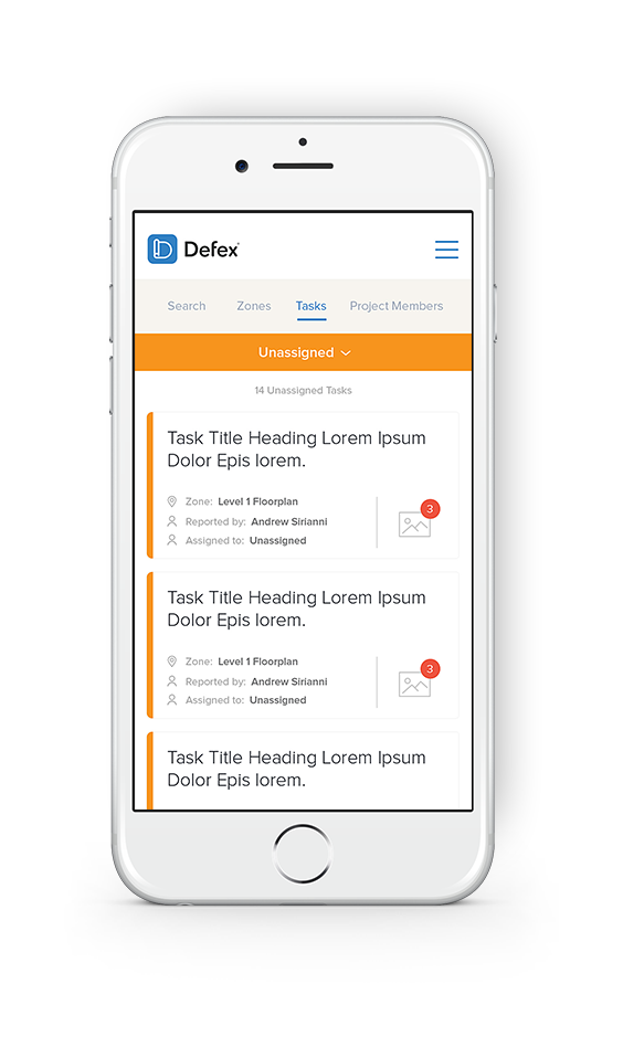 Defex can be accessed via your computer, tablet or mobile phone.